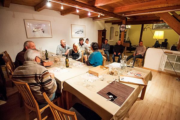 restaurant sea trout lodge guest