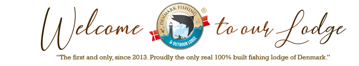 Denmark Fishing Outdoor Lodge – vacation, seatrout, fishing, outdoor, events, food, Fyn island Logo