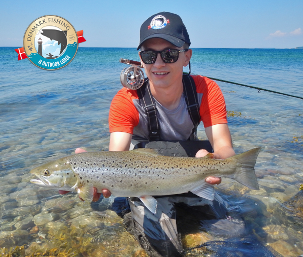 Jan nachtigal guide denmark fyn sea trout